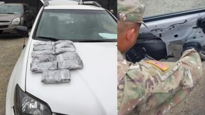 La primera misión de la Guardia Nacional en la frontera de California detecta droga no indocumentados
