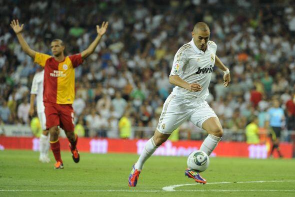 Karim Benzema apareció para resolver las cosas.