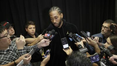 Kawhi Leonard speaks out in letter for first time after trade