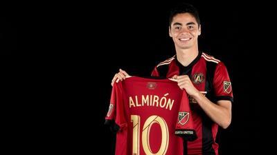 Las camiseta del paraguayo Miguel Almirón de Atlanta United es la más ve...