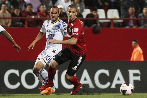 En la misma edición Xolos chocaba fuerzas con Los Ángeles Galaxy en un d...