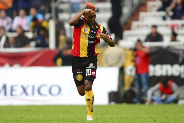 Fidel Martínez, el hombre gol de los Leones Negros, aparece en la lista...