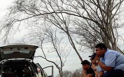 """""""El Yaqui"""", sufrió un aparatoso accidente al volcar la camioneta que man..."""