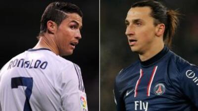 Estos dos cracks, Cristiano y Zlatan, podrían verse las caras el 27 de j...