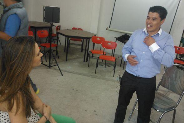 Felicidad Aveleyra nos invitó tras bastidores a la grabación de su serie...