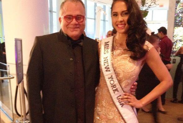 Armando Correa con Miss NY