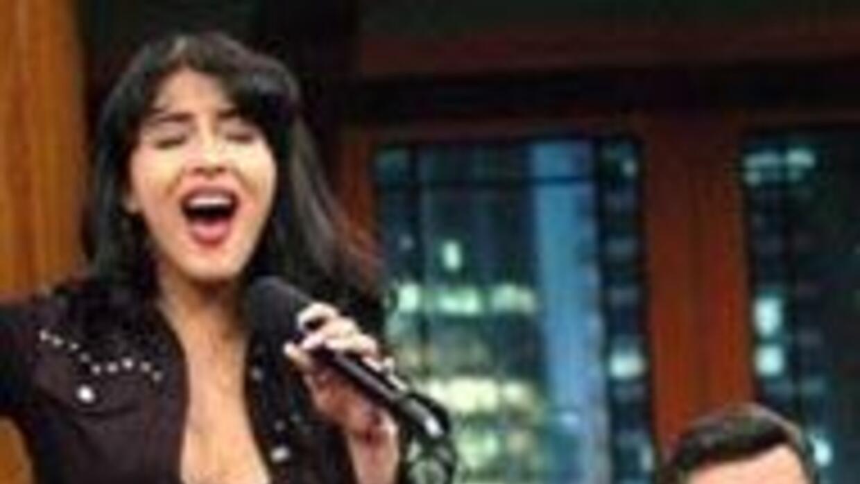 Donatella participó en la gira promocional de 'Selena, el musical' inter...