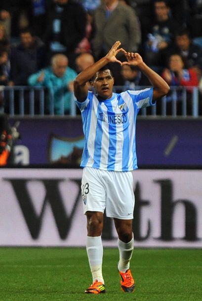 El venezolano Salomón Rondón hizo el gol del honor, para el marcador fin...