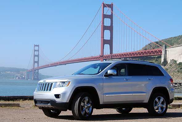 El totalmente renovado Jeep Grand Cherokee 2011 mostró todas sus dotes e...