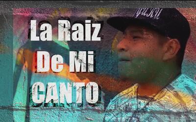 La raíz de mi canto: La historia del rapero indígena que compone cancion...