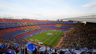 """La despedida del """"infinit8Iniesta"""" del Barcelona con triunfo contra Real Sociedad"""