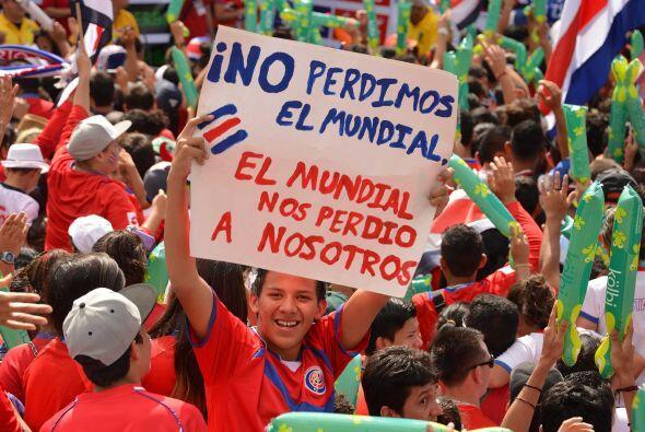 Julio 8 - Costa Rica cerró su mejor participación en Copas del mundo: po...