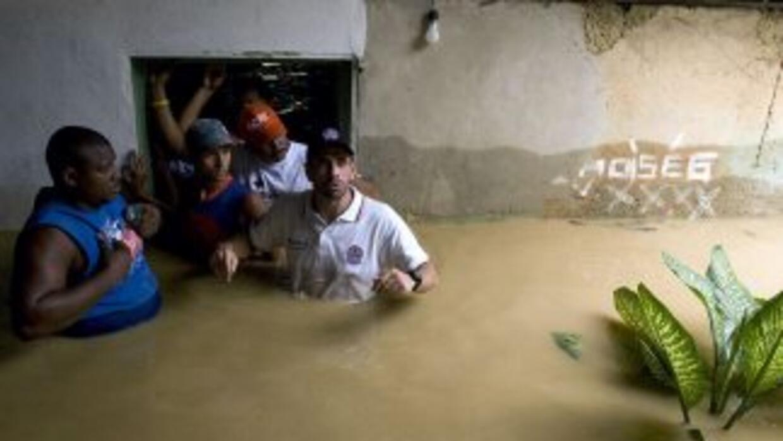 Las fuertes precipitaciones que azotan Venezuela dejan ya 34 fallecidos...