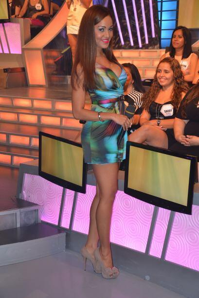 La bella Karol estuvo entre el público para captar las opiniones de la a...