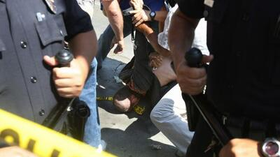 Sáenz-Tamez fue detenido mientras iba de compras en la ciudad de Edimbur...