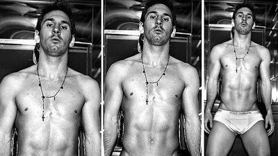 Lionel Messi se convirtió en modelo de Dolce&Gabbana.