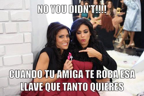 Ni las bellezas latinas escapan a las mentes malvadas que gozan haciendo...