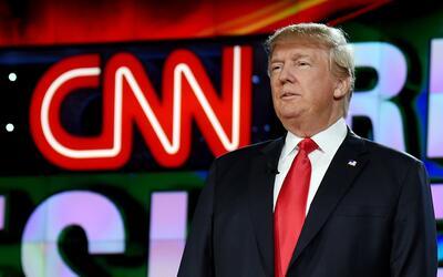 Aunque CNN y otros canales le ayudaron a apuntalar su candidatura presid...