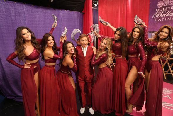 La gala final de Nuestra Belleza Latina fue un motivo muy especial para...