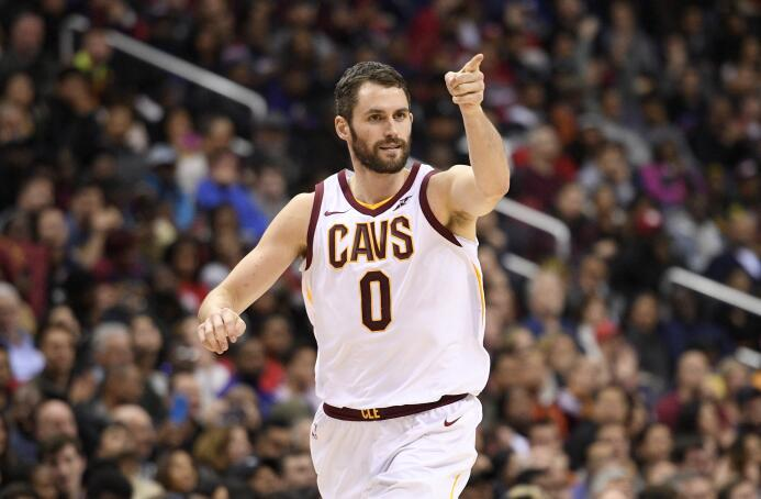 19. Kevin Love (Cleveland Cavaliers) - 22,642,350 millones dólares