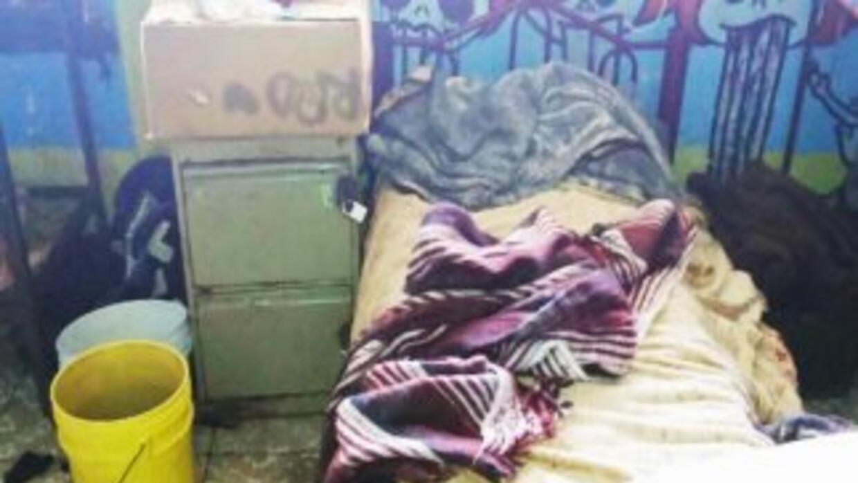 Esta fotografía muestra una de las habitaciones del albergue (Crédito: P...