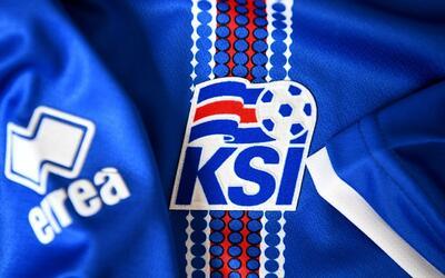 Islandia, con este jersey, camina dando sorpresas en la Euro