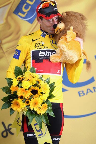 La penúltima etapa del Tour de Francia tuvo un final muy emociona...