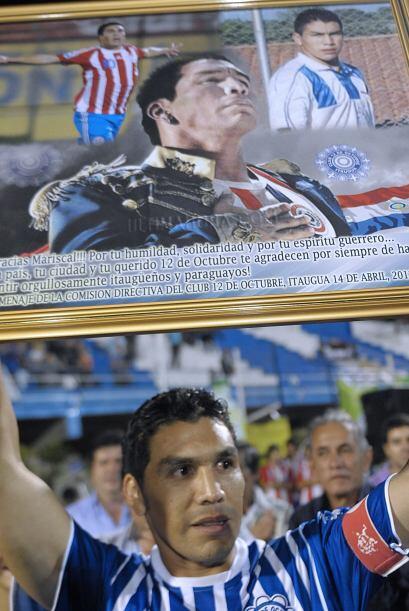 Cabañas volvió a jugar a nivel profesional sólo que fue en la división d...