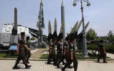 Corea del Norte no ha parado de realizar pruebas misilísticas est...