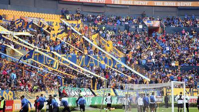Fiesta en 'manada': los miles de hinchas que disfrutaron el entrenamiento de Tigres