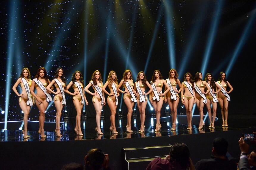 Estas son las mujeres que se disputarán la corona de Nuestra Belleza Méx...