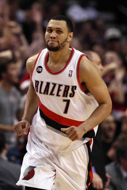 Brandon Roy de los Blazers de Portland. Este jugador llegó para brillar...