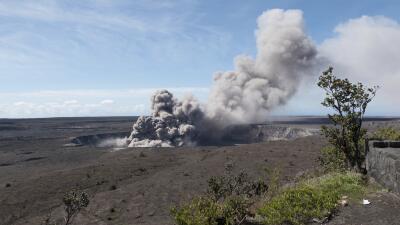 La intensa actividad del volcán Kilauea ahuyenta a los turistas de Hawaii
