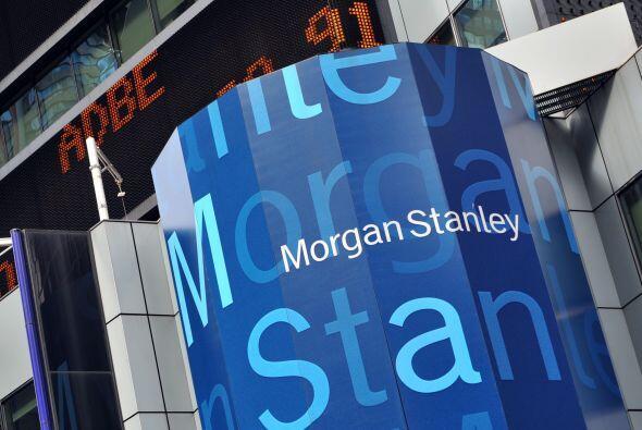"""MORGAN STANLEY  """"  Situación: El banco de negocios informó que durante e..."""