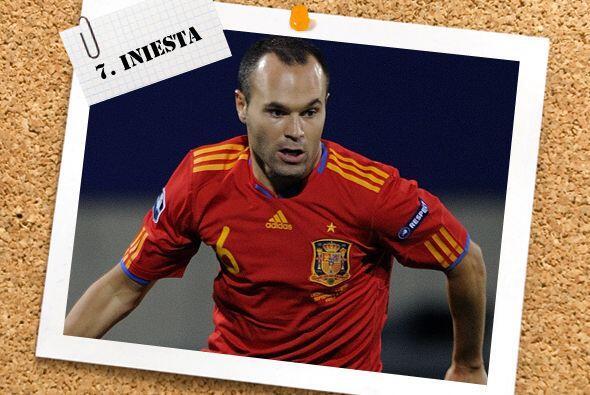 A pesar de la ausencia de Xavi, Andrés Iniesta se encargó de que España...