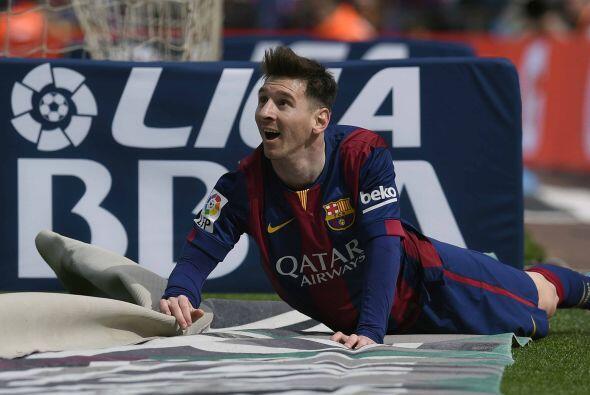 El crack Lionel Messi seguía con la pólvora mojada, aunque era cuestión...