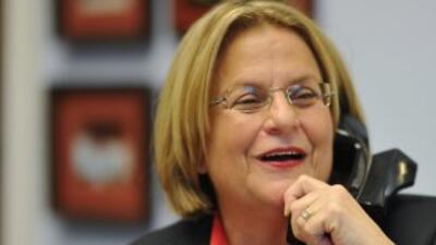 La congresista Ileana Ros-Lehtinen (republicana de Florida), habló en Al...