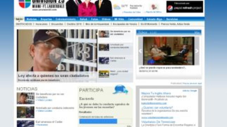 Te presentamos el nuevo sitio de Univision23.com, con un diseño realizad...