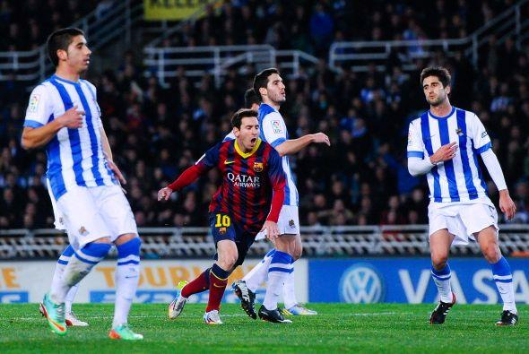 El Barcelona no encontró entrada para la reacción.