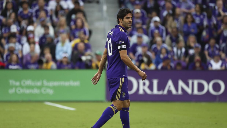 Kaká salió lesionado en el duelo contra NYCFC.