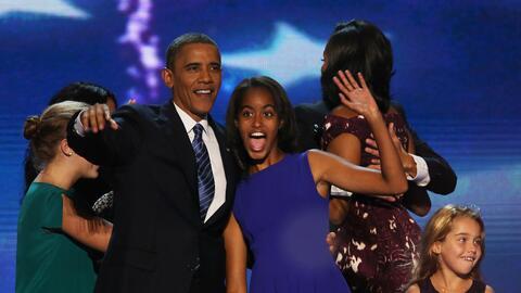 Malia Obama estudiará en Harvard, donde sus padres recibieron t&i...