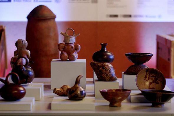 Colombia abrió una exposición con parte de las 691 piezas arqueológicas...