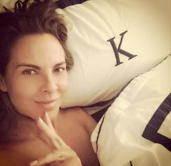 Kate del Castillo habló con la periodista Lydia Cacho y afirmó que ha re...