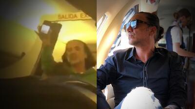 Alejandro Fernández pide perdón por pasarse de 'jarra' y sembrar pánico en un avión