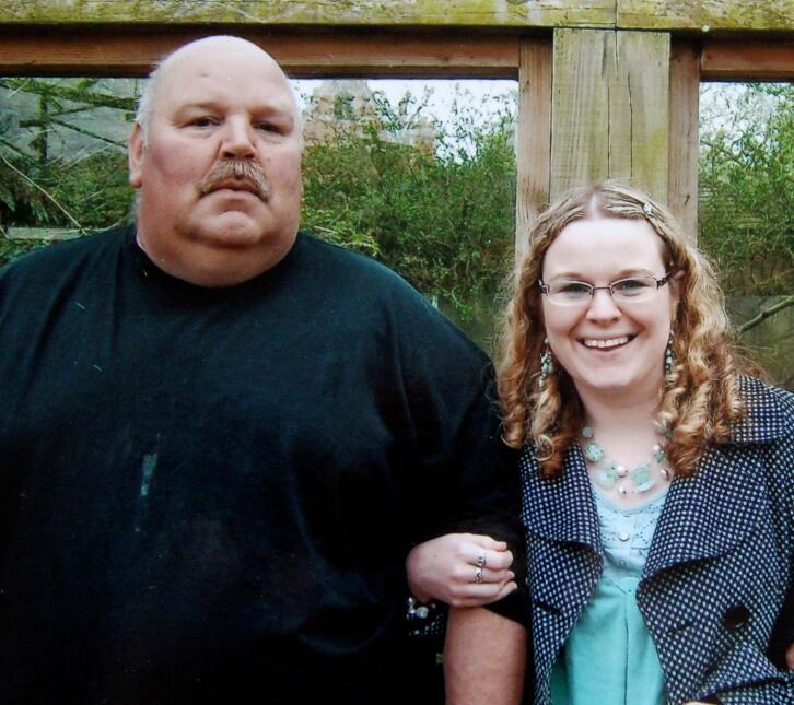 Papá baja de peso para la boda de su hija