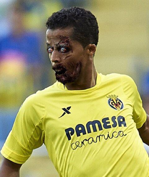 Giovani dos Santos, figura del Villarreal internacional con México.