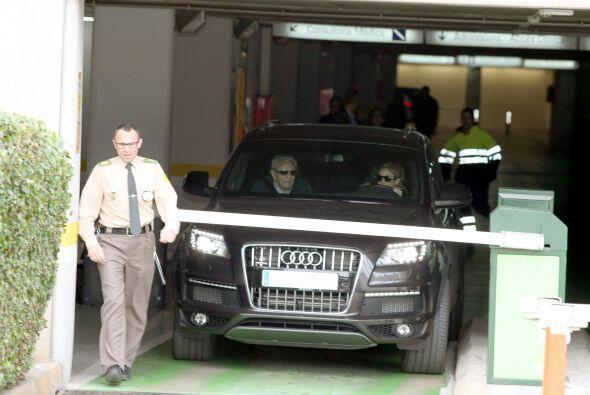 William Mebarak, padre de Shakira, iba con ella en el automóvil. Mira aq...