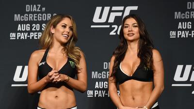 Cara a cara: ¿Quién es más sexy entre Brittney Palmer y Arianny Celeste en UFC?