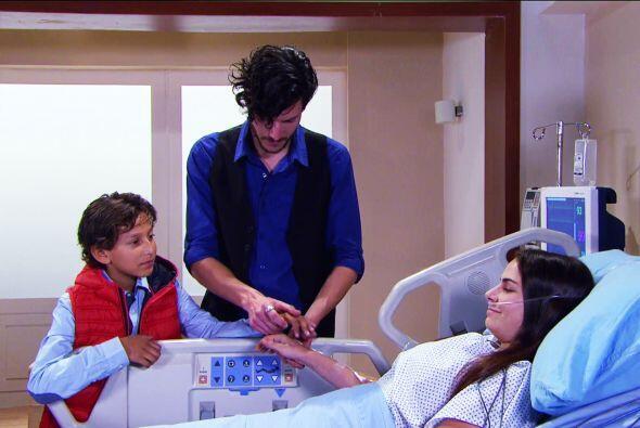 Mira quién fue a visitarte Inés, es Carlos Horacio. La operación fue tod...
