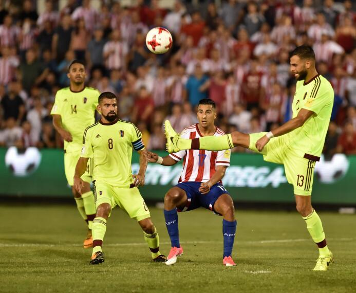 Cecilio Domínguez (Paraguay): solo hubo 56 minutos en cancha para el del...